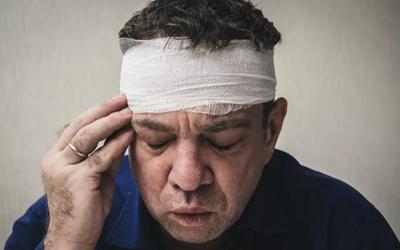 травма головы - Лето