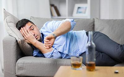 Алкогольная деменция - Лето