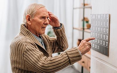 Деменция у пожилого человека - Лето