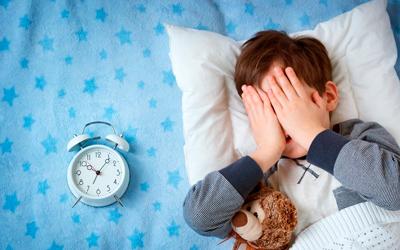 Основными причинами детской бессонницы - Лето