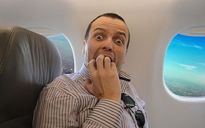Почему развивается панический страх перелетов - Лето