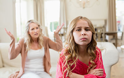 Конфликты в семье - Лето