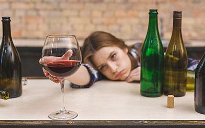 Случаи алкоголизма - Лето