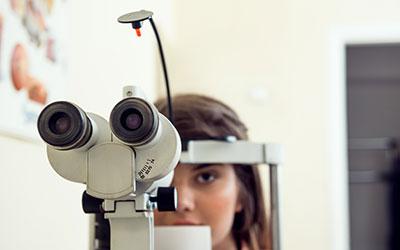 Осмотр офтальмолога - Лето