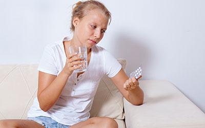 Отсутствие эффекта от приема антидепрессантов - Лето