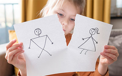 Развод родителей - Лето