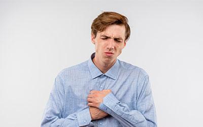 Сильные давящие боли в груди - Лето